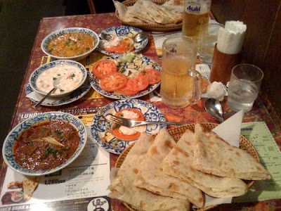 Malabar Indian Restaurant, Takadanobaba.