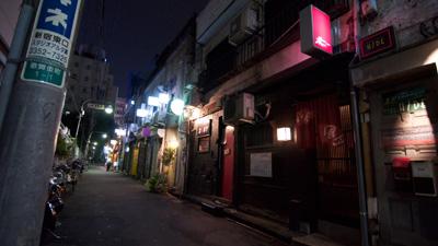 Goldengai By Night Shinjuku Tokyo