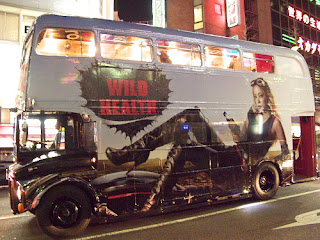 Namie Amuro and the Wild Health Double Decker Bus