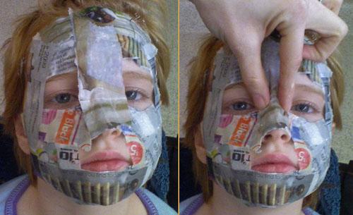 Jah jah spinhx lundone callying - Masque papier mache ...