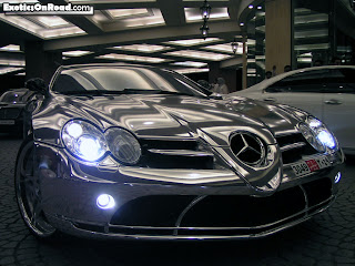 Benz: fully built in white gold body