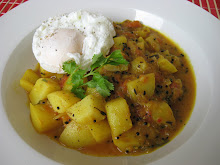 breakfast potato curry