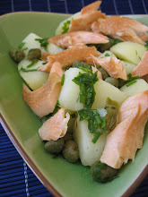 smoked trout potato salad