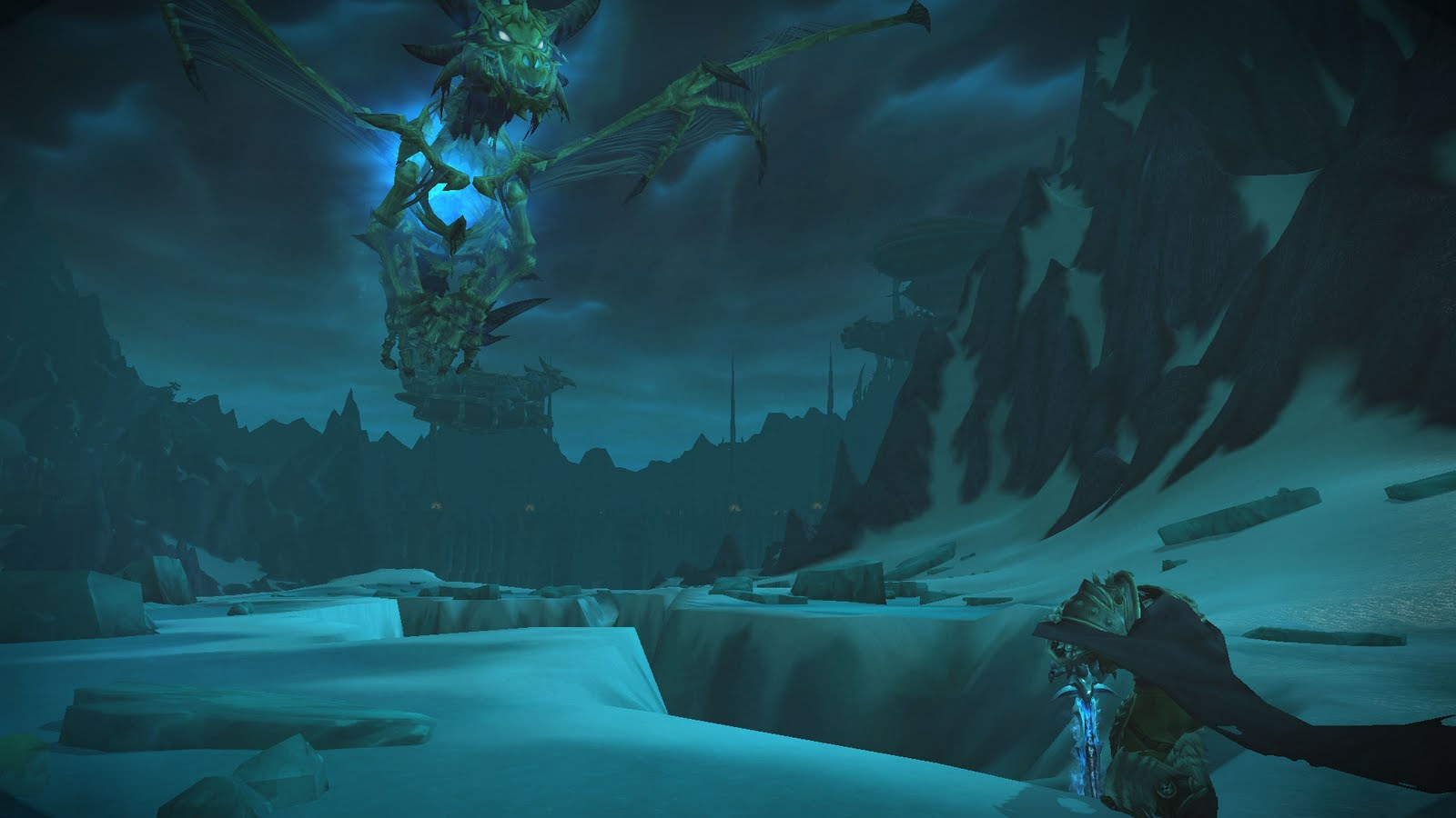 how to get to lich king from sindragosa map