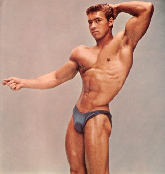 six star muscle: Larry Scott