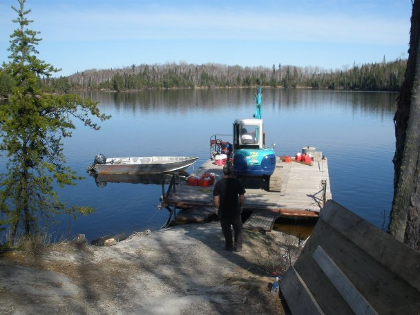 Bow narrows camp blog on red lake ontario what we 39 ve been for Red lake ice fishing resorts