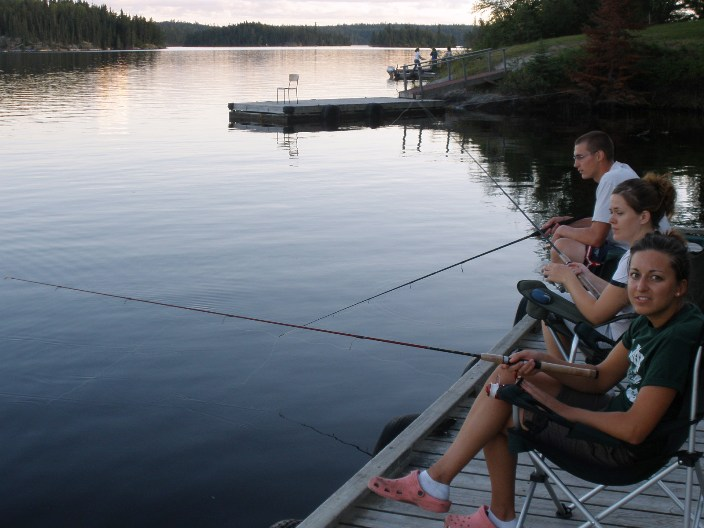 Bow narrows camp blog on red lake ontario fishing off the for Red lake ontario fishing
