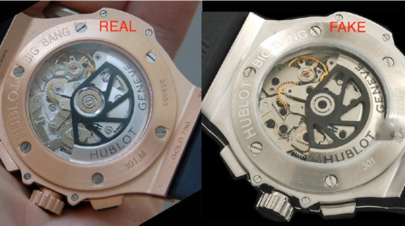 Hublot Big Bang Original Vs Replica