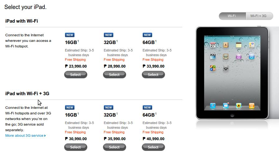 Image from the Apple Store Philippines