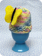 Knitted Easter Egg Cozy Pattern / Tutorial