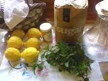 How to Make Lemon Cordial