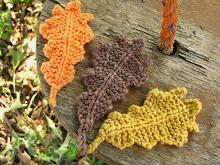 Autumn Oak Leaf Knitting Pattern