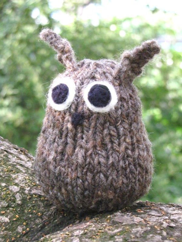 Knitted Owl Pattern, Tutorial - Natural Suburbia