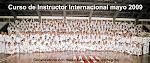 Curso del instructorado internacional 2009