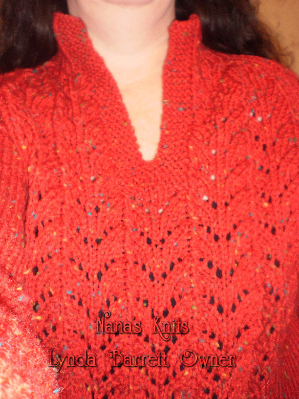 Knitting Pattern For Wallaby Sweater : Nanas Knits: New Wallaby