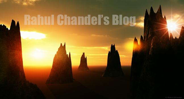 Rahul Chandel's Blog