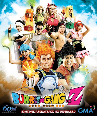 Cosplay Bubble Gang Z