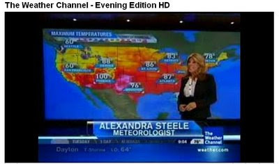 I Luv The Weather Channel Kristina Abernathy Is My Favorite Weather Gal Of All Time But Alexandra Steele Is Right Up There Too