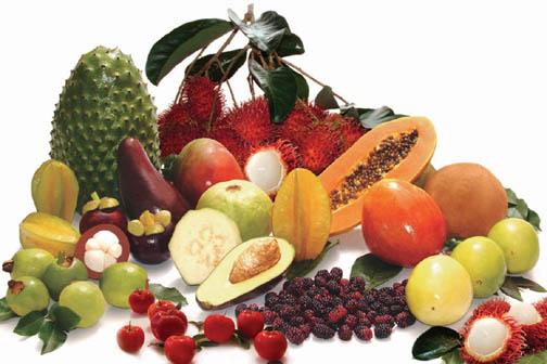 Consumir frutas y verduras antioxidantes para rejuvenecer y adelgazar