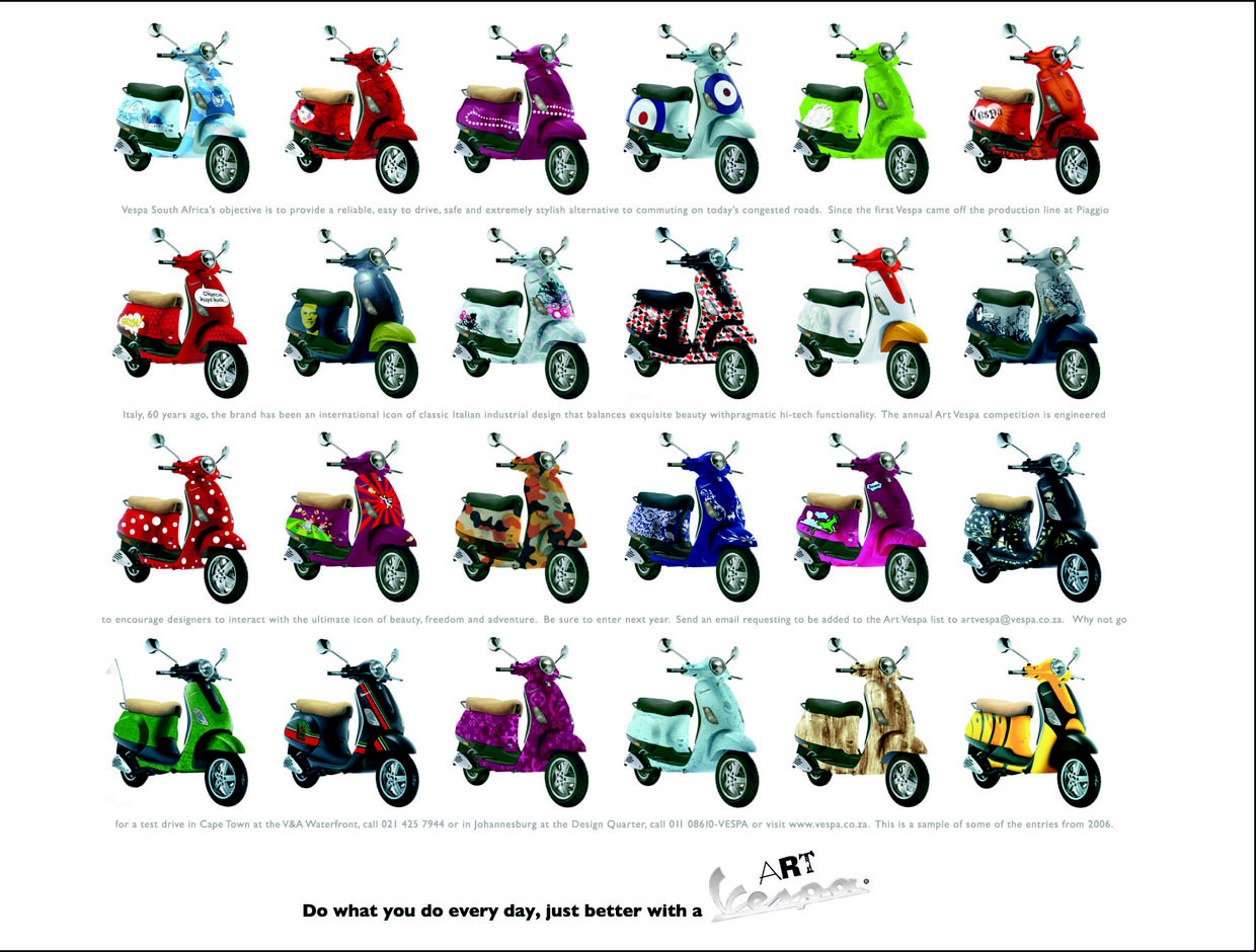 Art Vespa Autos