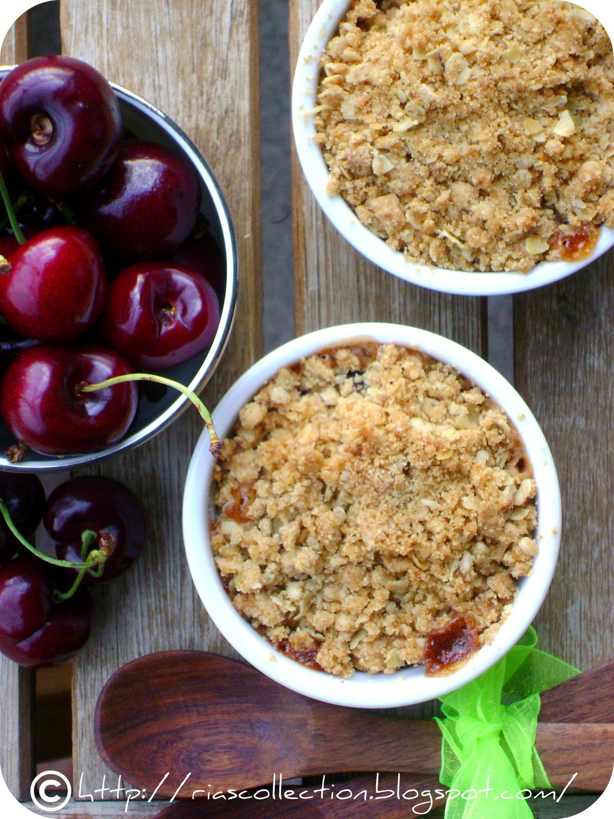 Ria's Collection: CHERRY CRUMBLE