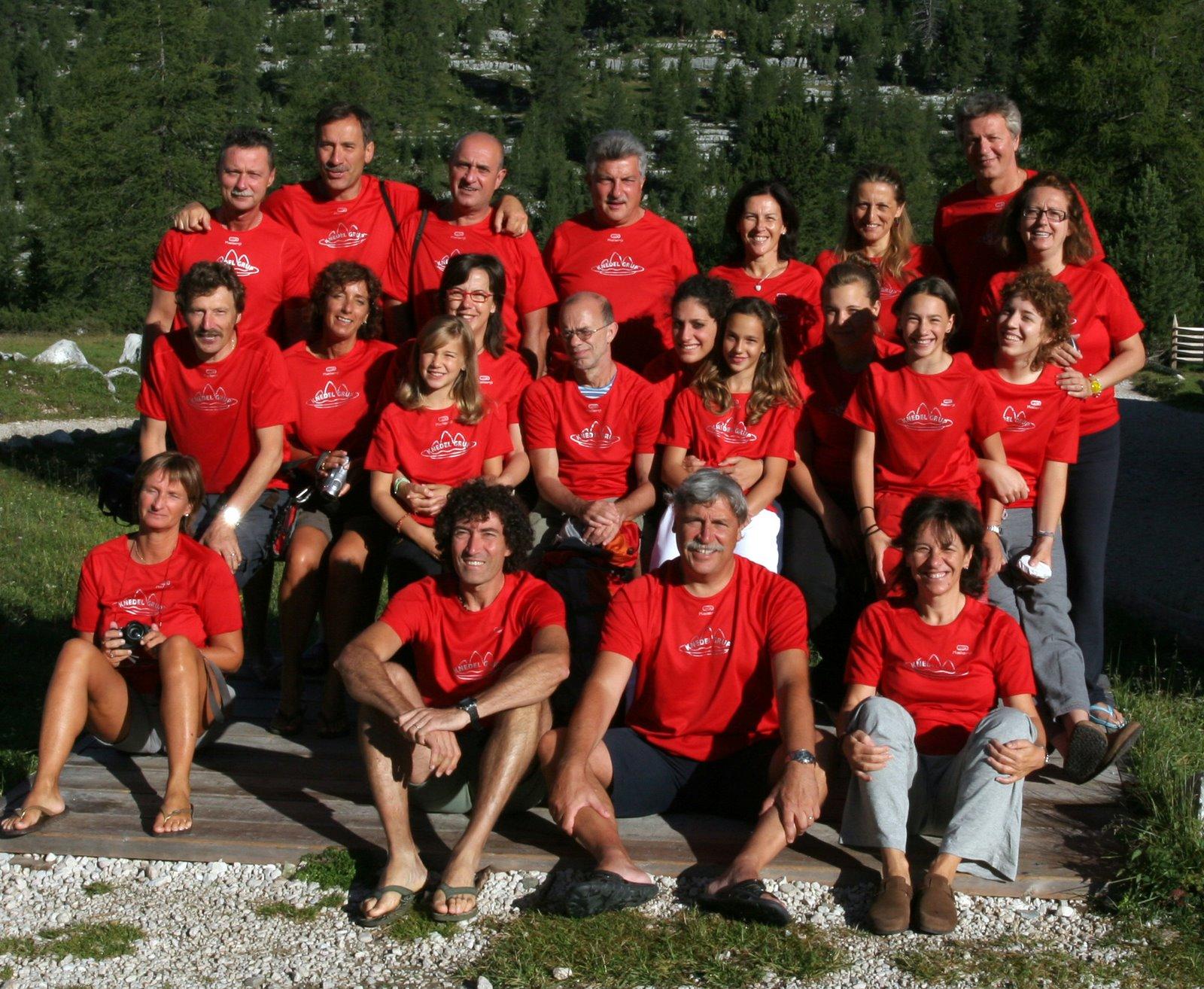 Il Knedelgrup, formazione 2008