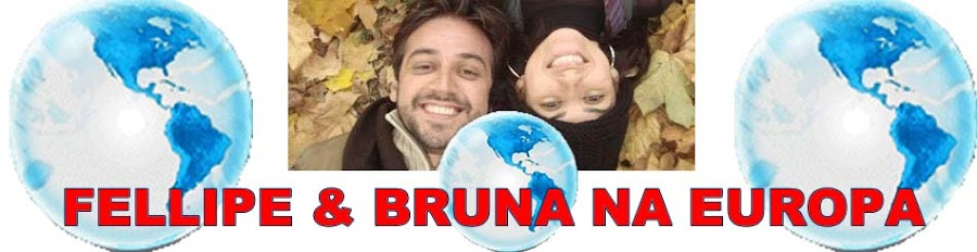 FELLIPE E BRUNA NA ITÁLIA