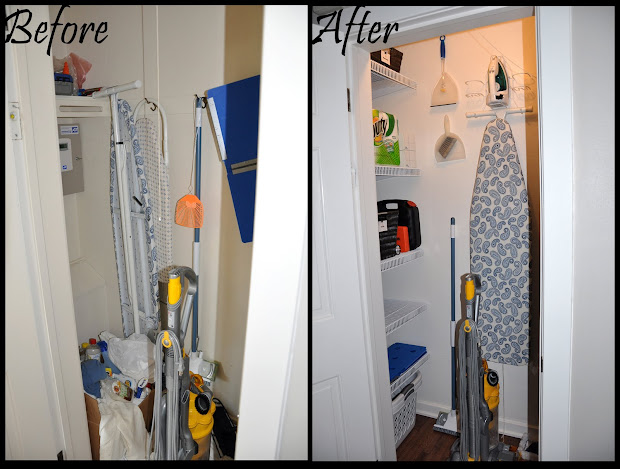 Merveilleux Small Broom Closet Organization Ideas