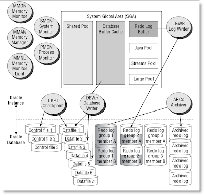 Oracle Dba In The Making Oracle 10g Architecture