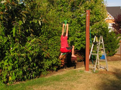 Bob's Grand Adventures: Backyard Fort Zip Line