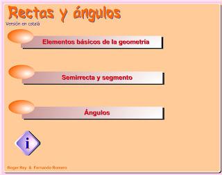 geometria. rectas y angulos. eloviparo