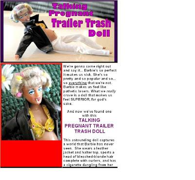 The Talking Trailer Trash Doll I Ve Named Her Lurlene
