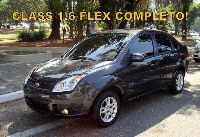 Ford Fiesta Sedan 2009 - 1.6 Flex Completo Ar-Condicionado