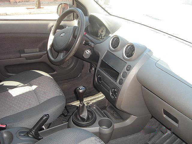 Ford Fiesta 2003 Supercharger, interior, fotos