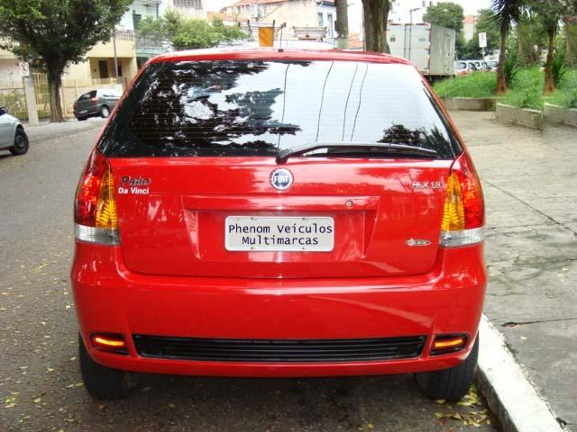 Fiat Palio HLX 2006 1.8 lanternas traseiras
