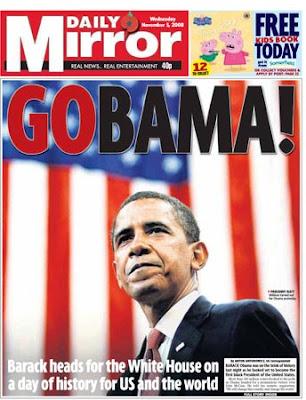 Daily Mirror 5 November 2008
