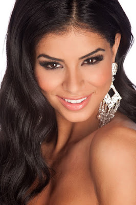 Miss USA 2010 Rima Fakih -- close-up