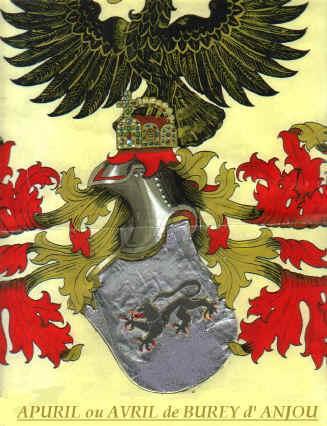 Dei  tre leoni svevi , ne resta uno  solo:Avril(Staufer) Buren(Burey )( Anjou )  Plantagenet