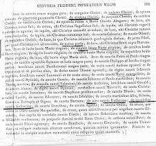 Sindone di Federico II:conferma ritrovata dallo storico Gabriele Reina nei MGH