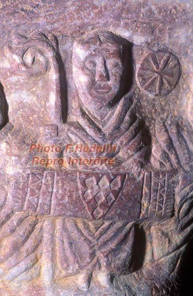 Abbas Avril de Saint Genis Buren Anjou ostenta le Bende di Cristo