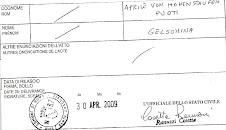 cert.anamnestico prof Aprile von Hohenstaufen Puoti Gelsomina(Yasmin)