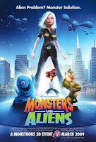 Monsters vs Aliens Movie