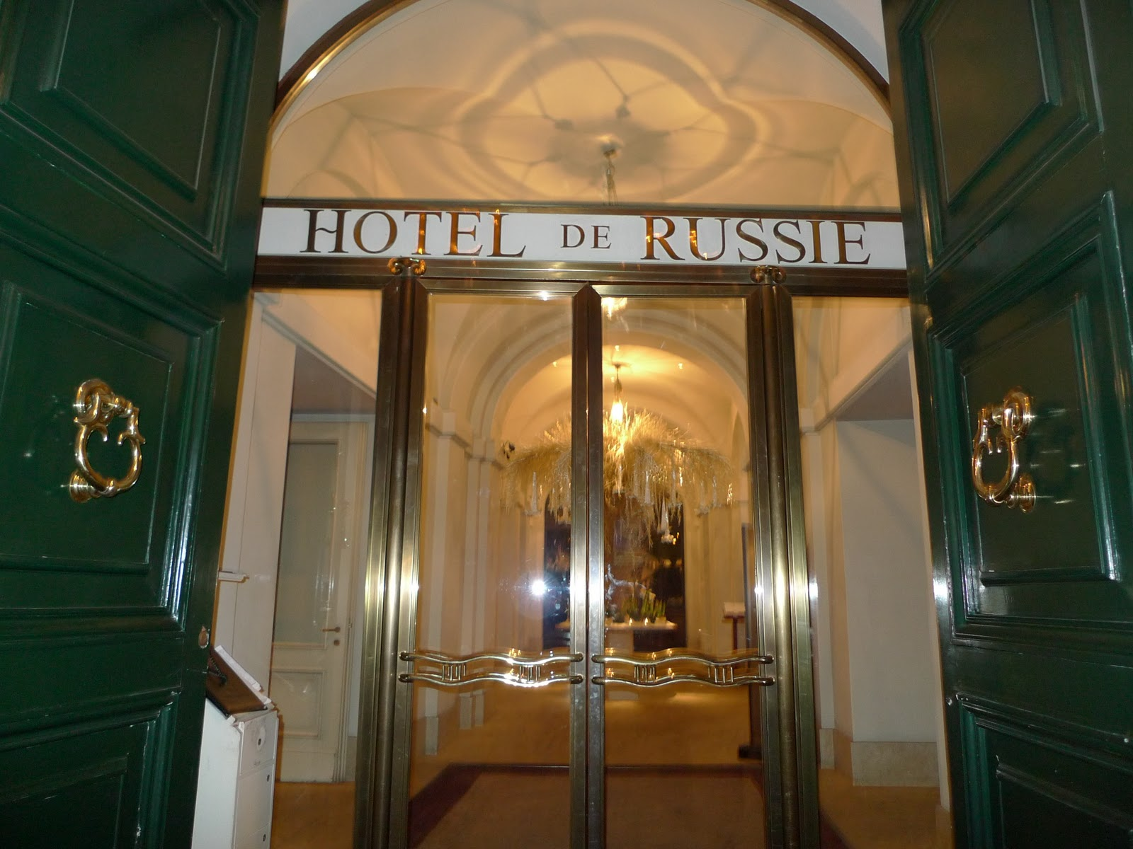 Ms ellaneous rome part 6 hotel de russie for Hotel via del babuino