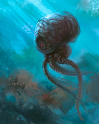 Sea Creature fantasy art