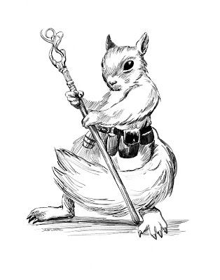 squirrel mage