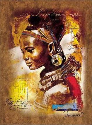 Danzas Africanas Ivey Haies Pintura