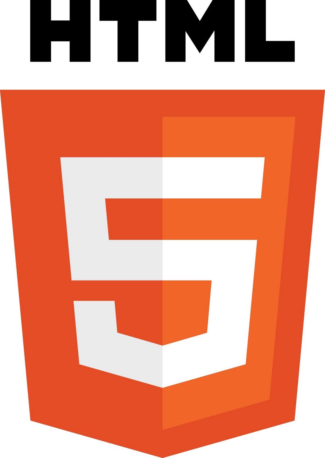Logo HTML5 PSD