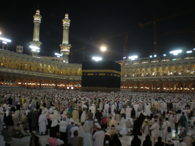 Kaabah,Qiblat ku