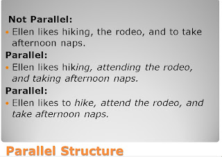 how to find parallel sentences