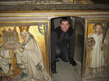 Tim in Bamberg tomb